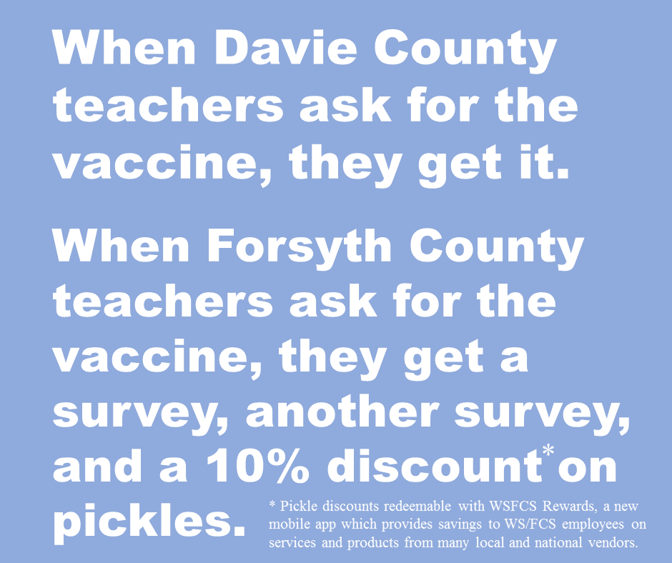 vaccine or pickles?